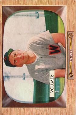 1955 Bowman #13 Clyde Vollmer
