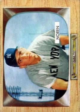 1955 Bowman #63 Irv Noren