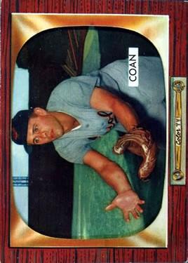 1955 Bowman #78 Gil Coan