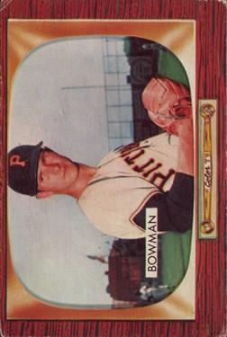 1955 Bowman #115 Roger Bowman RC