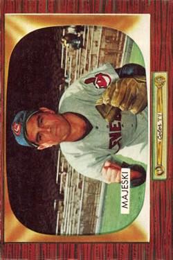 1955 Bowman #127 Hank Majeski