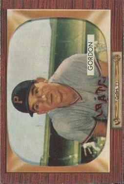 1955 Bowman #163 Sid Gordon