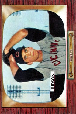 1955 Bowman #193 Howie Judson