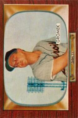 1955 Bowman #203 Steve Gromek