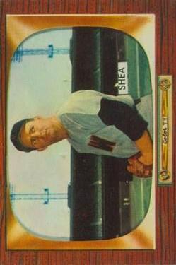 1955 Bowman #207 Frank Shea