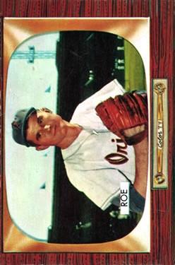 1955 Bowman #216 Preacher Roe