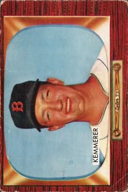 1955 Bowman #222 Russ Kemmerer RC