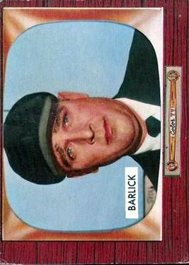 1955 Bowman #265 Al Barlick UMP