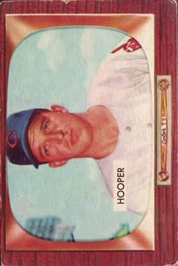 1955 Bowman #271 Bob Hooper