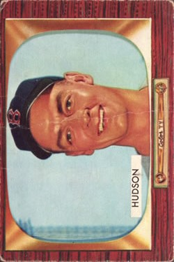 1955 Bowman #318 Sid Hudson