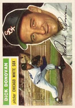 1956 Topps #18 Dick Donovan