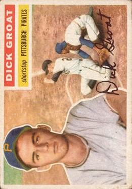 1956 Topps #24 Dick Groat