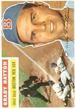 1956 Topps #26 Grady Hatton