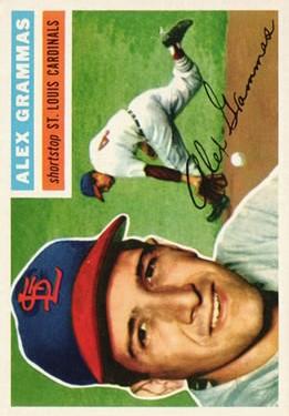 1956 Topps #37 Alex Grammas