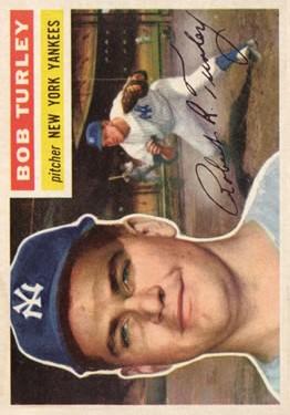 1956 Topps #40 Bob Turley