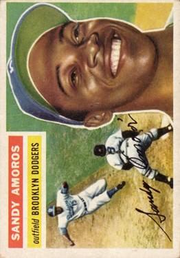 1956 Topps #42 Sandy Amoros