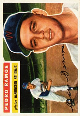 1956 Topps #49 Pedro Ramos RC