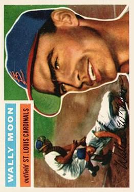 1956 Topps #55 Wally Moon