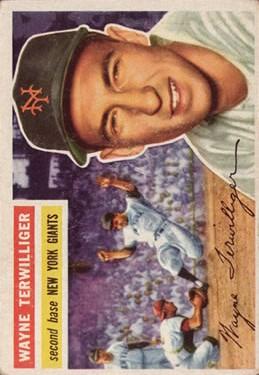 1956 Topps #73 Wayne Terwilliger