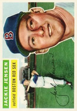 1956 Topps #115 Jackie Jensen
