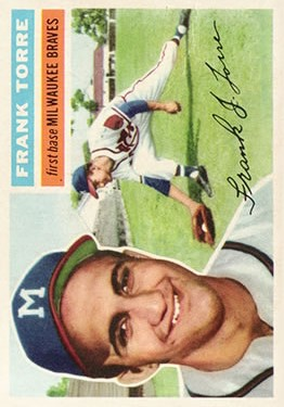1956 Topps #172 Frank Torre RC