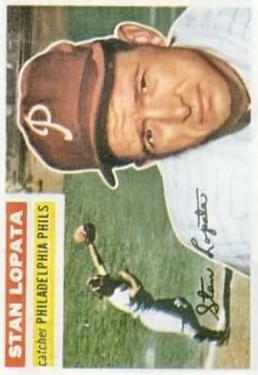 1956 Topps #183 Stan Lopata
