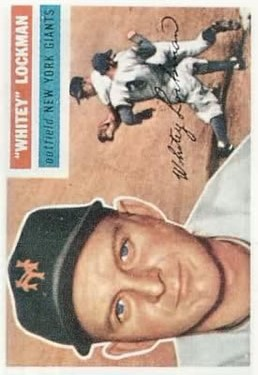 1956 Topps #205 Whitey Lockman