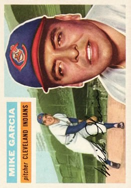 1956 Topps #210 Mike Garcia