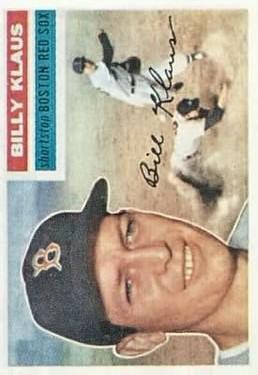 1956 Topps #217 Billy Klaus