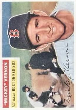 1956 Topps #228 Mickey Vernon