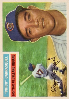 1956 Topps #230 Chico Carrasquel