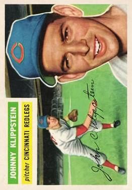 1956 Topps #249 Johnny Klippstein