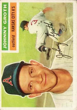 1956 Topps #279 Johnny Groth