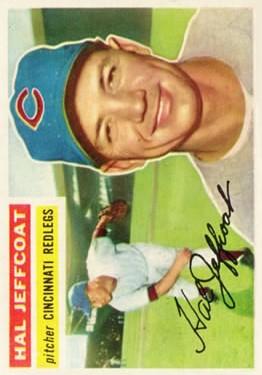 1956 Topps #289 Hal Jeffcoat