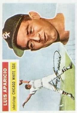 1956 Topps #292 Luis Aparicio RC