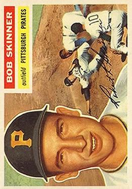 1956 Topps #297 Bob Skinner
