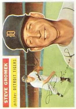 1956 Topps #310 Steve Gromek