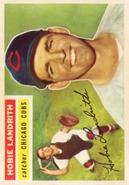 1956 Topps #314 Hobie Landrith