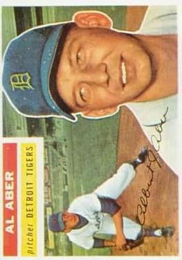 1956 Topps #317 Al Aber