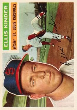 1956 Topps #336 Ellis Kinder