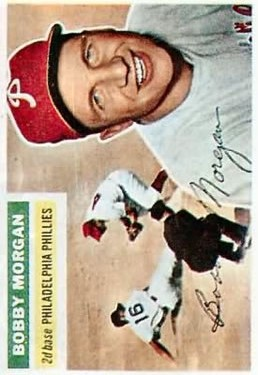 1956 Topps #337 Bobby Morgan