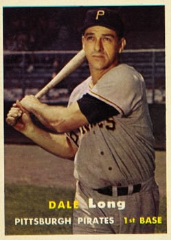 1957 Topps #3 Dale Long