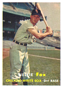 1957 Topps #38 Nellie Fox