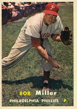 1957 Topps #46 Robert J. Miller