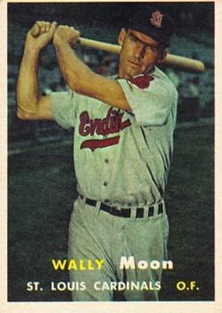 1957 Topps #65 Wally Moon