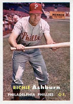 1957 Topps #70 Richie Ashburn