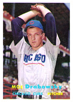 1957 Topps #84 Moe Drabowsky RC