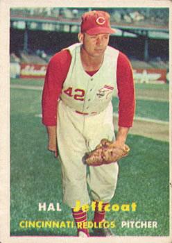 1957 Topps #93 Hal Jeffcoat