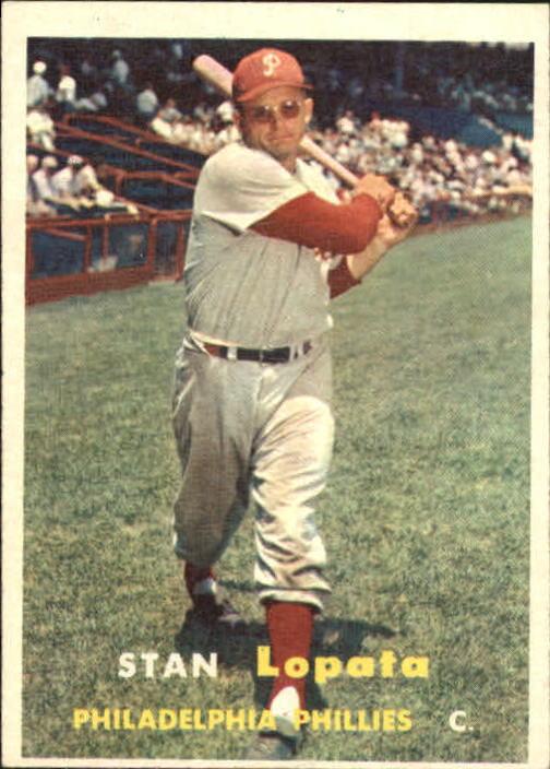 1957 Topps #119 Stan Lopata
