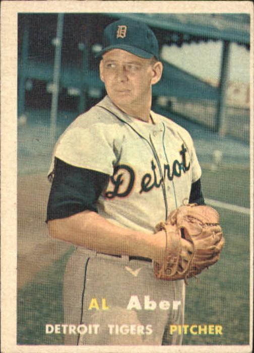 1957 Topps #141 Al Aber
